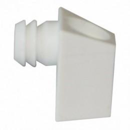 Upevňovací element - biely