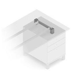 Pevný držiak Frame CUBO / šedá
